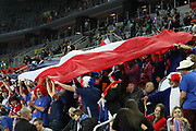 Fans of France during the EHF 2018 Men's European Championship, 1/2 final Handball match between France and Spain on January 26, 2018 at the Arena in Zagreb, Croatia - Photo Laurent Lairys / ProSportsImages / DPPI