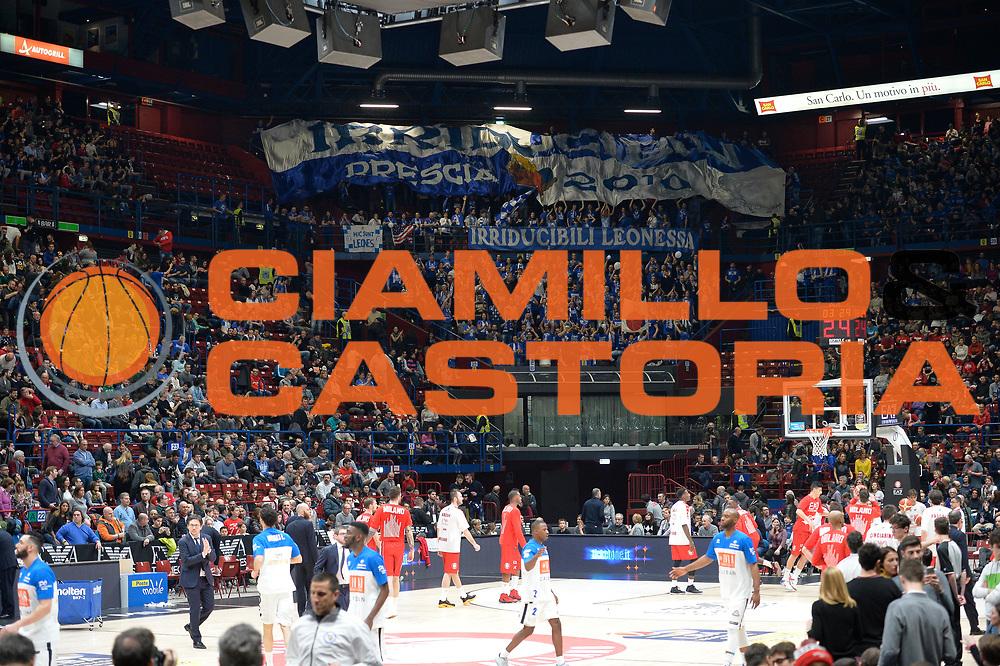 Pubblico<br /> Olimpia EA7 Emporio Armani Milano vs Basket Leonessa Brescia<br /> Lega A 2016/2017<br /> Milano 12/02/2017<br /> Foto Ciamillo-Castoria