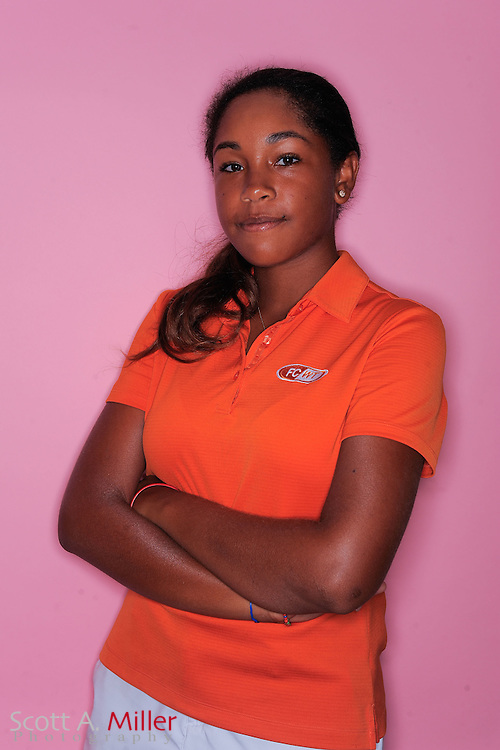 Ginger Howard during a portrait session prior to the second stage of LPGA Qualifying School at the Plantation Golf and Country Club on Sept. 25, 2011 in Venice, FL...©2011 Scott A. Miller