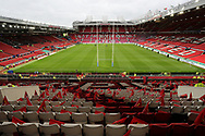General view of Old Trafford, prior to the Betfred Super League Grand Final match between Wigan Warriors and the Warrington Wolves, Manchester.<br /> Picture by Michael Sedgwick/Focus Images Ltd +44 7900 363072<br /> 13/10/2018