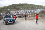 Cross country rally. A 4x4 event photographed in Israel