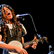 Valerie June performing at Lincoln Theater on February 10, 2014.