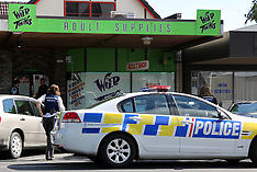 Rotorua-Man in custody after failed sex shop robbery