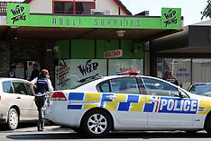 Rotorua-Man in custody after failed sex shop robbery