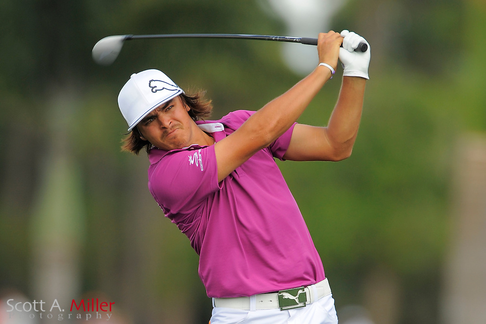 Rickie Fowler during the second round of the Honda Classic at PGA National on March 2, 2012 in Palm Beach Gardens, Fla. ..©2012 Scott A. Miller.