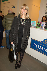 LYNN FAULDS WOOD at the opening of the exhibition Champagne Life in celebration of 30 years of The Saatchi Gallery, held on 12th January 2016 at The Saatchi Gallery, Duke Of York's HQ, King's Rd, London.