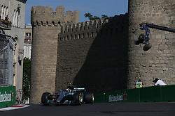 June 23, 2017 - Baku, Azerbaijan - Motorsports: FIA Formula One World Championship 2017, Grand Prix of Europe, ..#77 Valtteri Bottas (FIN, Mercedes AMG Petronas F1 Team) (Credit Image: © Hoch Zwei via ZUMA Wire)