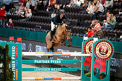 Knippling, Andreas (GER) Captain Carlos<br /> Leipzig - Partner Pferd 2017<br /> © Stefan Lafrentz
