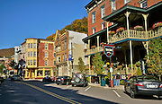 Broadway, Jim Thorpe Fall Foliage Celebration, Jim Thorpe, Carbon Co., PA