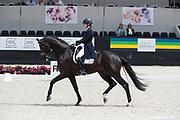 Vai Bruntink - Cum Laude<br /> WK Selectie Jonge Dressuurpaarden 2017<br /> © DigiShots