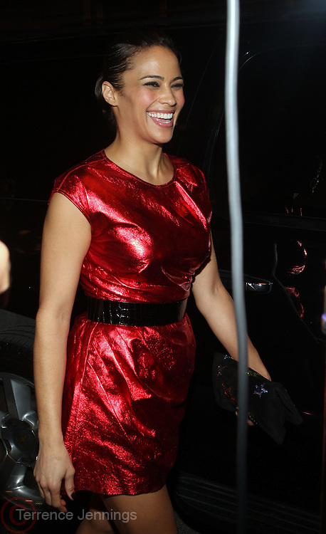 Paula Patton at The Hennessey Artistry Concert Series held at Terminal 5 on  October 7, 2009 in New York City