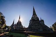 Ayutthaya temple Thailand
