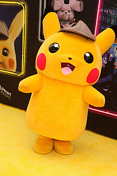 May 2, 2019 - New York City, New York, U.S. - POKEMON attends the US premiere of Pokemon Detective Pikachu held at Military Island Times Square. (Credit Image: © Nancy Kaszerman/ZUMA Wire)
