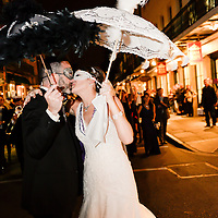 Second Line Wedding Dance - New Orleans Wedding - French Quarter 2014 - Bride & Groom 1216 Studio Wedding Photography