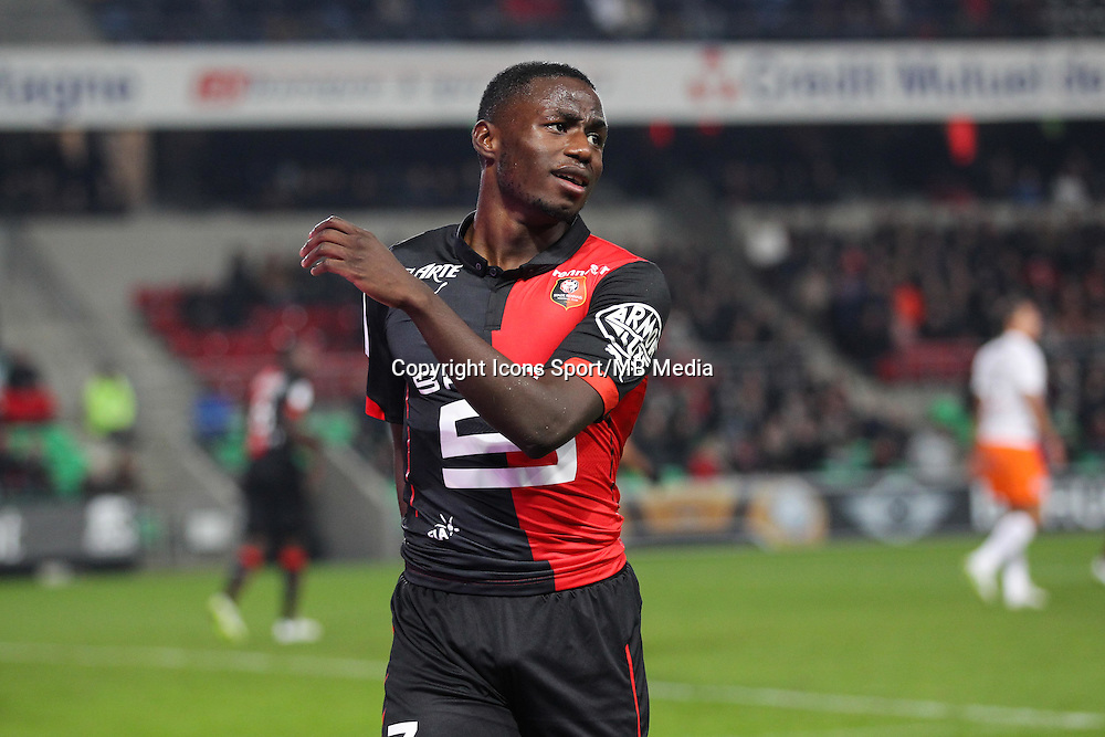 Paul Georges NTEP - 06.12.2014 - Rennes / Montpellier - 17eme journee de Ligue 1 -<br />