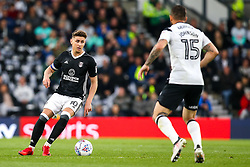 Tom Cairney of Fulham takes on Bradley Johnson of Derby County - Mandatory by-line: Robbie Stephenson/JMP - 11/05/2018 - FOOTBALL - Pride Park Stadium - Derby, England - Derby County v Fulham - Sky Bet Championship