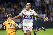 Mariano Diaz (OL) celebrates after scoring a penalty kick during the French Championship Ligue 1 football match between Olympique Lyonnais and Dijon FCO on September 23, 2017 at Groupama stadium in Lyon, France - Photo Romain Biard / Isports / ProSportsImages / DPPI