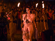 Beltane Fire Festival, Edinburgh, 30 April 2019