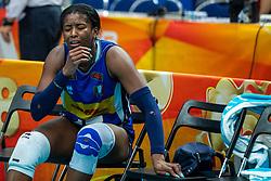 19-10-2018 JPN: Semi Final World Championship Volleyball Women day 18, Yokohama<br /> China - Netherlands / Miryam Fatime Sylla #17 of Italy