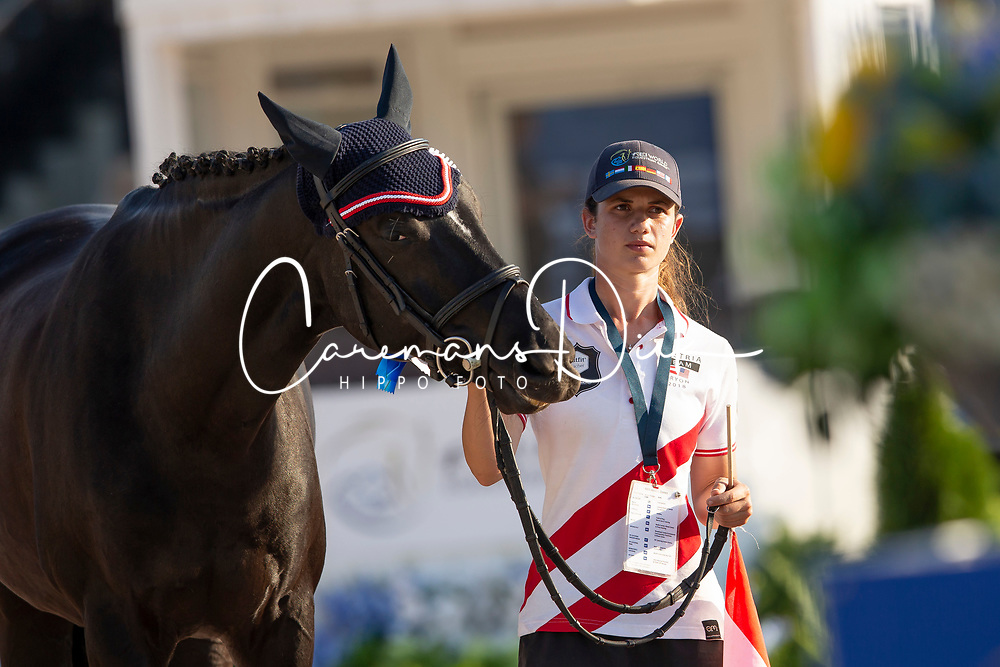 Puch Pepo, AUT, Sailor's Blue<br /> World Equestrian Games - Tryon 2018<br /> © Hippo Foto - Sharon Vandeput<br /> 22/09/2018