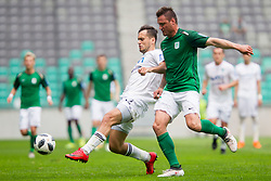 Leon Benko of NK Olimpija Ljubljana during football match between NK Olimpija Ljubljana and NK Krsko in Round #35 of Prva liga Telekom Slovenije 2017/18, on May 23, 2018 in SRC Stozice, Ljubljana, Slovenia. Photo by Urban Urbanc / Sportida