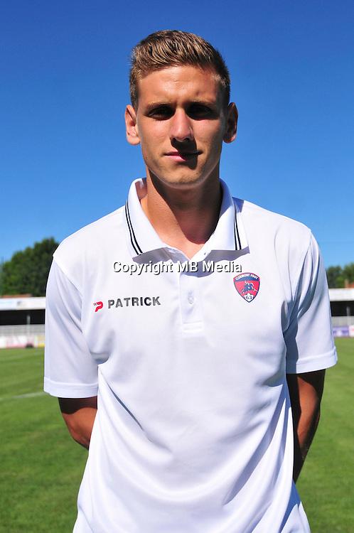 Kevin Diogo - 07.08.2015 - Evian Thonon / Clermont - 2eme journee de Ligue 2<br /> Photo : Philippe Lebrech / Icon Sport *** Local Caption ***