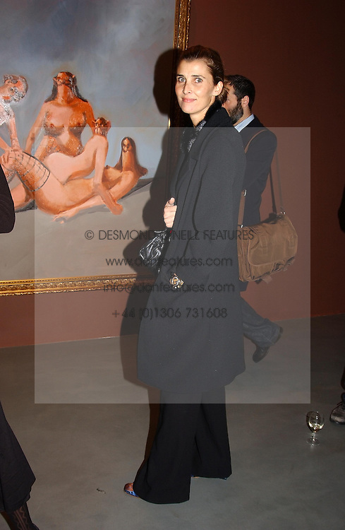 PRINCESS ROSSARIO OF BULGARIA  at an exhibition of paintings by artist George Condo entitled 'Religious Paintings' held at the Spruth Magers Lee Gallery, 12 Berkeley Street, London W1 on 12th October 2004.<br /><br />NON EXCLUSIVE - WORLD RIGHTS