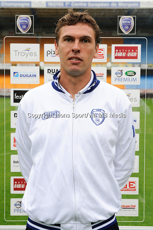 Emmanuel PASCAL - 11.09.2013 - Photo Officielle - Troyes<br /> Photo : Icon Sport