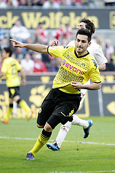 25.03.2012, Rhein Energie Stadion, Koeln, GER, 1. FBL, 1.FC Koeln vs Borussia Dortmund, 27. Spieltag, im Bild Ilkay GUENDOGAN (BVB Borussia Dortmund #21) jubel nach dem 1-4 // during the German Bundesliga Match, 27th Round between 1.FC Koeln and Borussia Dortmund at the Rhein Energie Stadion, Koeln, Germany on 2012/03/25. EXPA Pictures © 2012, PhotoCredit: EXPA/ Eibner/ Gerry Schmit..***** ATTENTION - OUT OF GER *****