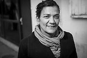November 3, 2016, Paris, France. Nadia Remadna, born in Créteil on November 15, 1959, president of 'Brigade des mères' (Mothers' Brigade). Author, mother of four children, mediator, militant against radicalization, she denounces the abandonment of republican principles in the suburbs.<br /> <br /> 3 novembre 2016, Paris, France. Nadia Remadna, née à Créteil le 15 novembre 1959, présidente de la Brigade des mères, fondée à Sevran en Seine Saint-Denis. Auteure du livre Comment j'ai sauvé mes enfants, mère de quatre enfants, médiatrice, militante contre la radicalisation. elle dénonce l'abandon des principes républicains dans les banlieues.