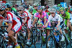 Paris, France - Tour de France :: Stage 21 - 21th July 2013 - Peloton with Andrew TALANSKY (Garmin-Sharp)