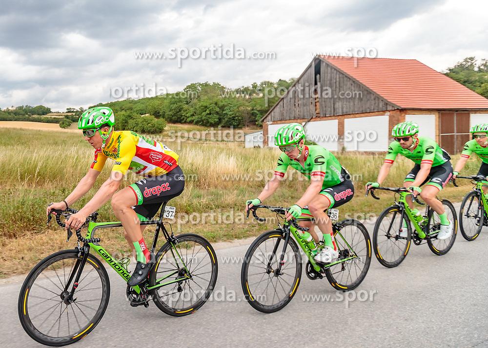 04.07.2017, Pöggstall, AUT, Ö-Tour, Österreich Radrundfahrt 2017, 2. Etappe von Wien nach Pöggstall (199,6km), im Bild Sep Vanmarcke (BEL, Cannondale Drapac Professional Cycling Team), Tom Jelte Slagter (NED, Cannondale Drapac Professional Cycling Team) // during the 2nd stage from Vienna to Pöggstall (199,6km) of 2017 Tour of Austria. Pöggstall, Austria on 2017/07/04. EXPA Pictures © 2017, PhotoCredit: EXPA/ JFK