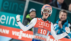 06.01.2016, Paul Ausserleitner Schanze, Bischofshofen, AUT, FIS Weltcup Ski Sprung, Vierschanzentournee, Bischofshofen, Finale, im Bild Stefan Kraft (AUT) // Stefan Kraft of Austria celebrate after his final jump of the Four Hills Tournament of FIS Ski Jumping World Cup at the Paul Ausserleitner Schanze in Bischofshofen, Austria on 2016/01/06. EXPA Pictures © 2016, PhotoCredit: EXPA/ JFK