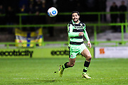 Forest Green Rovers Fabien Robert(26) runs forward during the Vanarama National League match between Forest Green Rovers and Solihull Moors at the New Lawn, Forest Green, United Kingdom on 21 March 2017. Photo by Shane Healey.