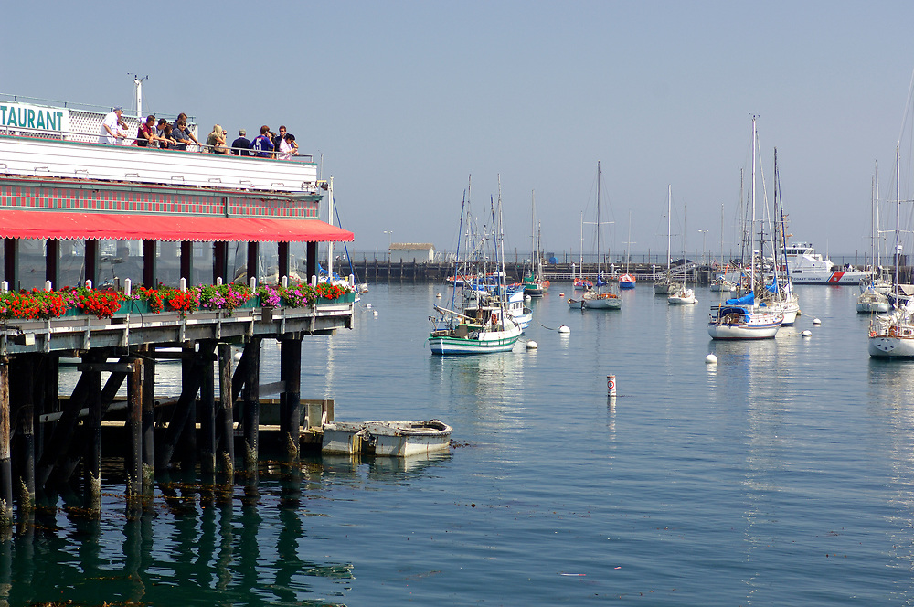 Fishermans Wharf, Monterey Bay, Monterey, California, United States of America