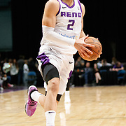 Reno Bighorns Guard CODY DEMPS (2) during the NBA G-League Basketball game between the Reno Bighorns and the Raptors 905 at the Reno Events Center in Reno, Nevada.