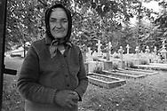 Sucevita, 1993: Cimitero - Cemetery.<br /> &copy; Andrea Sabbadini