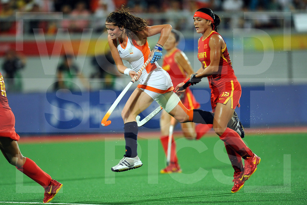 Womens Hockey Gold medal Game..Beijing Olympic Green Hockey Stadium  22-8-08..Photo: Grant Treeby/WSP