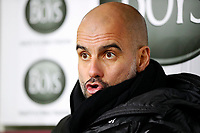 Football - 2019 / 2020 Premier League - Burnley vs. Manchester City<br /> <br /> Manchester City Manager Josep Guardiola at Turf Moor.<br /> <br /> COLORSPORT/LYNNE CAMERON