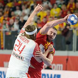 20180124: CRO, Handball - EHF Euro Croatia 2018 - Group II, FYR Macedonia vs Denmark