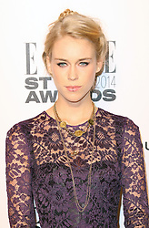 © Licensed to London News Pictures. 18/02/2014, UK. Mary Charteris,  ELLE Style Awards, One Embankment, London UK, 18 February 2014. Photo credit : Richard Goldschmidt/Piqtured/LNP