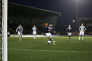 Dundee's Ryan Conroy scores from the penalty spot - St Mirren v Dundee, Clydesdale Bank Scottish Premier League at St Mirren Park.. - © David Young - www.davidyoungphoto.co.uk - email: davidyoungphoto@gmail.com