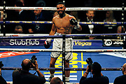 Anthony Tomlinson smiles after winning his fight against Stewart Tomlinson before the Kell Brook vs Mark DeLuca WBO Inter-Continental Super Welterweight fight at the FlyDSA Arena, Sheffield, United Kingdom on 8 February 2020.
