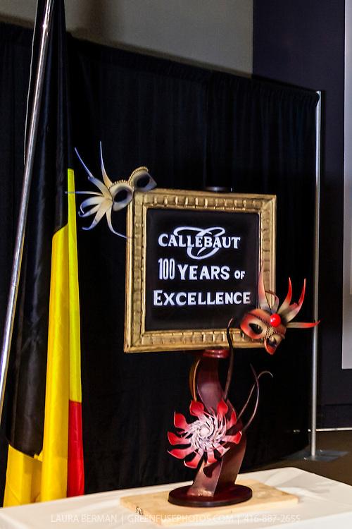 Demonstration Celebrating 100 years of Callebaut Finest Belgian Chocolate, Featuring Chef Philippe Vancayseele, Technical Advisor, Belguim.Chocolate Academy. At Humber College, February 23, 2012