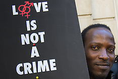 2015-09-30 London protest over Nigeria's homophobic laws