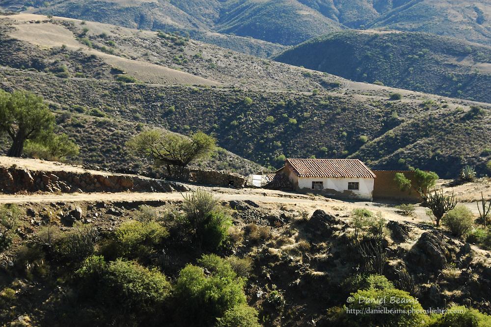 Rural farm near Sucre, Bolivia