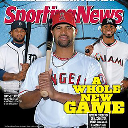 Sporting News Magazine - Baseball Preview - Prince Fielder partial cover.