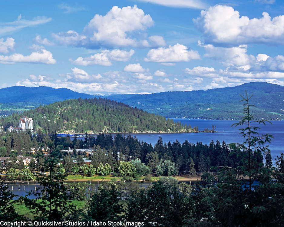 Idaho, Coeur dAlene, Resort, Tubbs, Lake