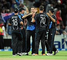 Hamilton-Cricket, 20/20 England v New Zealand, February 12