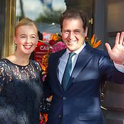 NLD/Amsterdam/20150926 - Afsluiting viering 200 jaar Koninkrijk der Nederlanden, Lodewijk Asscher<br />  en partner